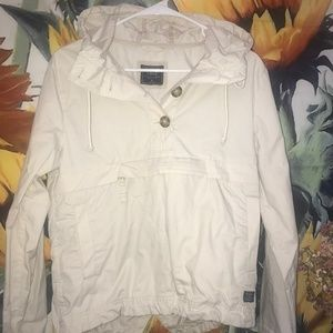 Tan Spring Abercrombie & Fitch Jacket